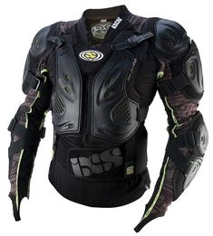iXS Protection Battle Jacket EVO Body Armor - base for an awesome futuristic kind of load out? Ninja Gear, Tactical Armor, Battle Jacket, Tac Gear, Tactical Clothing, Cool Gear, Riding Gear, Body Armor, Assassins Creed