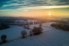 Good morning beautiful winter :)  Follow me on Instagram: https://www.instagram.com/phothomas.de/  #winter #snow #sunrise #field #niedersachsen #lowersaxony #germany #dji #mavic #djimavicpro #multicopter #drone #water #feld #instaflower #goodmood #nature
