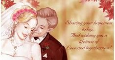 Wedding Day Wishes, Marriage, Happy, Image, Valentines Day Weddings, Ser Feliz, Weddings, Mariage, Wedding