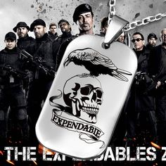 The Expendables Death Skull and Crow Dogtag – Top Notch Products  Do You Love The Expendables Death Skull and Crow Dogtag? Then This Necklace Is For You! ★ 50% OFF ★ and FREE SHIPPING Limited Time Only! Get it NOW ==> http://mytopnotchproducts.com/…/the-expandables-death-skull… TAG a friend who would also like one.  #the #expendables #necklace