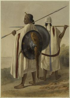 Ethiopians. The New York Public Library.   In addition to serving in military roles, Ethiopians traded directly with ports in the Indian Ocean, as far away as Malacca in Malaysia.