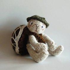 Turtle traveler Knitting pattern by DenizasToysJoys
