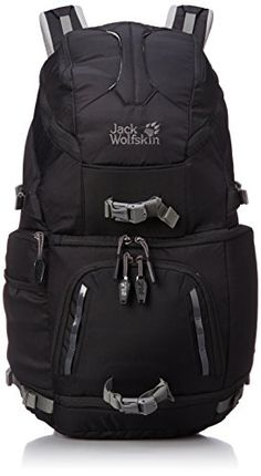 Jack Wolfskin Rucksack Acs Photo Pack Pro, Black, 59 x 33 x 24 cm, 30 Liter, 2003131-6000 - 1
