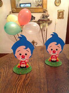 souvenirs y centro de mesa mickey, minnie, plim plim, y mas Second Birthday Ideas, Birthday Themes For Boys, Circus Birthday, Baby First Birthday, First Birthday Parties, First Birthdays, Carnival Themed Party, Carnival Themes, 50th Party
