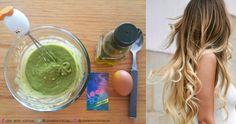 Receta para combatir el cabello dañado o con frizz. INGREDIENTES: • Medio aguacate maduro • 1 huevo • 1 cucharada de aceite de Oliva  PROCEDIMIENTO: 1. Mezcla todos los ingredientes hasta obtener una masa homogénea. 2. Aplícalo sobre el cabello ligeramente húmedo de medios a puntas y déjalo actuar por 20 o 30 min. Puedes aplicar calor para intensificar su efecto. 3. Lávalo con shampoo y aplica acondicionador. Diy Beauty, Beauty Hacks, Cabello Hair, Hair Repair, Tips Belleza, Belleza Natural, Natural Cosmetics, Hair Hacks, Hair Growth