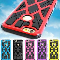 Slim Spider Web Hybrid Phone Cover Case Plus Screen for for Apple iPhone 6 (4.7) | eBay