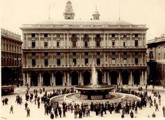 Genova, uno sguardo alla città di un tempo. Piazza De Ferrari nel 1936