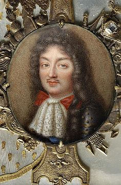 Posthumous portrait of Philippe de France, Monsieur, duc d'Orleans (1640-1701), 18th century, French school