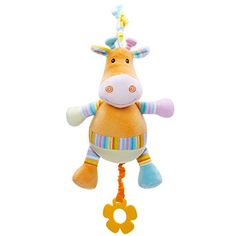 Kseey Music Giraffe Lathe Hang Baby Kids Dolls Lightup and Pullstring Multifunction Educational Toys Teether * Read more reviews of the product by visiting the link on the image.Note:It is affiliate link to Amazon.