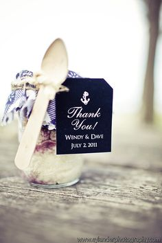 Wedding thank you tags Nautical wedding favor by saralukecreative #wedding #nautical #weddingfavors
