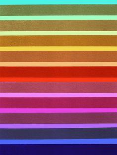 Fields_Multicolor - Art Print by Garima Dhawan