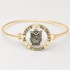 I think I need this! Wisdom Bracelet in Gold on Emma Stine Limited