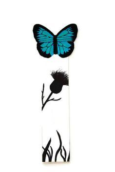 ~ Blue Butterfly ~ by Oksana Andryushchenko on Etsy