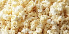 Parmesan cheese and chipotle powder elevate your microwave popcorn game. Popcorn Recipes, Snack Recipes, Snacks, Anna Olson, Microwave Popcorn, Food Network Canada, Barefoot Contessa, Chipotle, Food Network Recipes