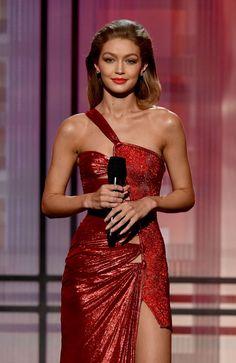 Gigi Hadid at the 2016 American Music Awards. Photo: