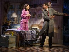 Photo 8 of 8 | Zachary Levi as Georg and Laura Benanti as Amalia in She Loves Me. | Show Photos: She Loves Me | Broadway.com