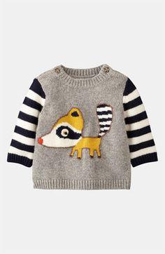 Mini Boden 'Logo' Sweater   #Boden #magicalmenagerie
