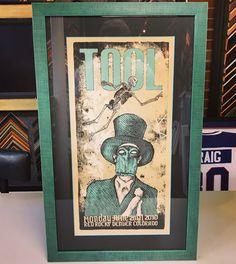 Custom framed Limited Edition Tool print using color-core acid-free matting, UV glass and Thornhill frame by @larsonjuhl!  #art #pictureframing #customframing #denver #colorado #tool