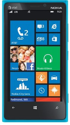 Nokia Lumia 920 4G Windows Phone, Cyan (AT&T)  for more details visit  : http://mobile.megaluxmart.com/
