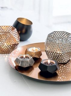 Home Styling / Copper Interior Accessories, Interior Styling, Interior Decorating, Interior Design, Copper Interior, Candle In The Wind, Home And Deco, New Room, Home Decor Inspiration