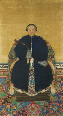 A Pair of Ancestor Portraits Qing Dynasty, 19th Century - Sotheby's http://www.sothebys.com/fr/auctions/ecatalogue/2012/fine-chinese-ceramics-works-of-art-l12211/lot.449.lotnum.html