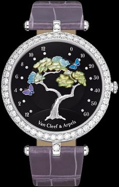 New watches with floral decoration $14,500