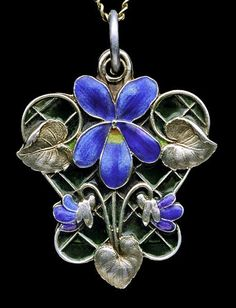 Pendant, 1900, Germany.