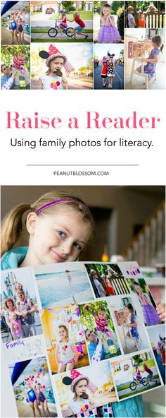 Helping your child learn to read doesn't have to be just about the ABC's. Want to raise a rockstar reader? Check out this fun family tip for using printed family photos for getting your kids reading. Such a cute idea!