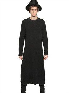 Ann Demeulemeester - Alpaca Knit Sweater Dress | FashionJug.com
