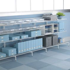 Keep paperwork under control and create effortless storage anywhere with elfa freestanding.