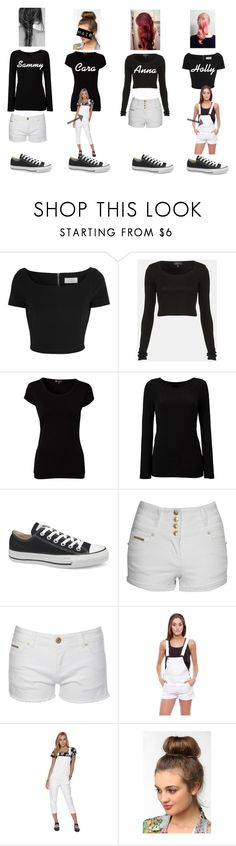 """""""Dance outfits"""" by mel98x ❤ liked on Polyvore featuring Preen, Topshop, Pure Lime, DKNY, Converse, Jane Norman, Junk and Nameless"""