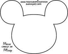 molde viseira do mickey - Pesquisa Google
