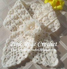 Crochet...Gotta Love It! Blog: Pineapple Neckwarmer (English), (translated from Rose's Portuguese pattern)