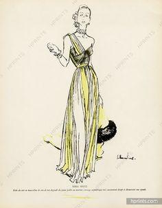 Nina Ricci 1947 Illustrator - Jc Haramboure