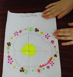 "legendeledacilor: Atelier ""Mandale Dacice"" la Scoala Altfel Mandala, Art, Atelier, Craft Art, Kunst, Mandalas, Coloring Pages Mandala"
