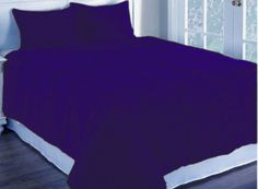 3 Pc Blue Full Corduroy Quilted With Poly Fiber Duvet Cover Set Home DéCor Xmas