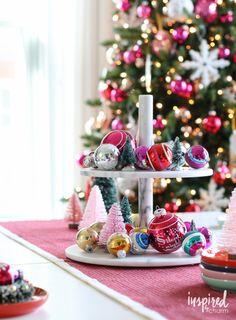 Unique Holiday Centerpiece Ideas - christmas decor