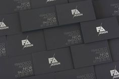 25 Outstanding Black Business Cards | Graphic & Web Design Inspiration + Resources
