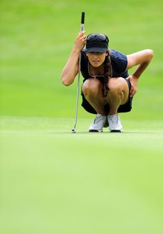 Professional golfer Maria Verchenova is the first Russian to earn a full-time membership on the Ladies European Tour—she turned pro in December 2006. No doubt she looked mighty fine while doing it too.