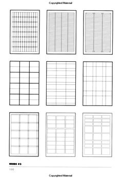 123 best design grids images in 2018 charts page layout