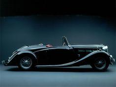 1938 Triumph Dolomite Roadster