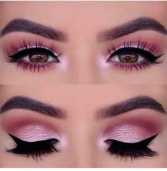 Pageant and Prom Makeup Inspiration. Find more beautiful makeup looks with Pagea… Pageant and Prom Makeup Inspiration. Find more beautiful makeup looks with Pageant Planet. Prom Eye Makeup, Pageant Makeup, Eye Makeup Steps, Makeup Eye Looks, Eye Makeup Art, Natural Eye Makeup, Pink Makeup, Smokey Eye Makeup, Eyeshadow Makeup