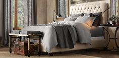 restoration hardware master bedroom - Google Search
