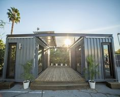 Let Storstac and Jason Halter help you design, build and install your very own micro shipping container living space today.