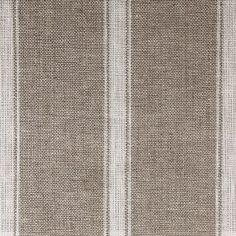 Angus stripe/Nordic ivy fabric by Ian Mankin at The Natural Curtain Company #fabulousfabrics
