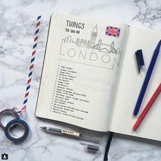 10 idées de page à mettre dans votre Bullet Journal en été ! Inspiration été bullet journal / voyage