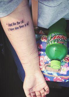 sylvia plath tattoo - Google Search