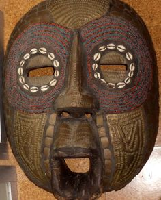 """African Art: Large Ashanti Mask from Ghana (20"""" x 14"""") hangs on wall. Fixed price $1,000 for sale in Rosslyn, VA, USA. Selling my stuff to fund grad studies / honors semester abroad and anthropological fieldwork in Central Africa. Please see my board for details and kindly repin. I need to sell all my possessions to fund my peacebuilding / genocide prevention research. Yes, I'm a real person and a real grad student. Thanks!"""