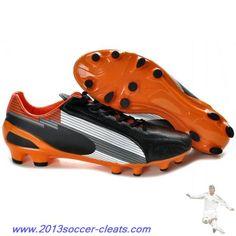 check out b5f0d ac69f Cheap Puma Evospeed 1 K FGs Black White Orange For Sale Nike Soccer Shoes,  Soccer