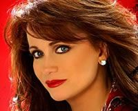 Louise Mandrell. Sister of Barbara and Irlene; country music star